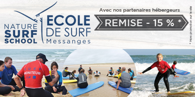 Nature surf school/desert point surf shop Messanges